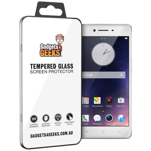 9H Tempered Glass Screen Protector for Oppo R7 - Clear