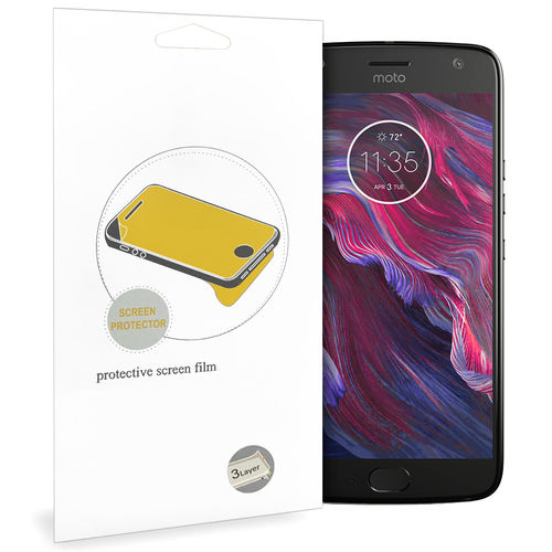 (2-Pack) Clear Film Screen Protector for Motorola Moto X4