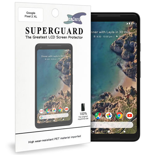 Calans (2-Pack) PET Clear Film Screen Protector for Google Pixel 2 XL