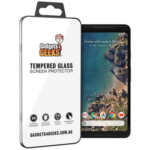 Calans 9H Tempered Glass Screen Protector for Google Pixel 2 XL