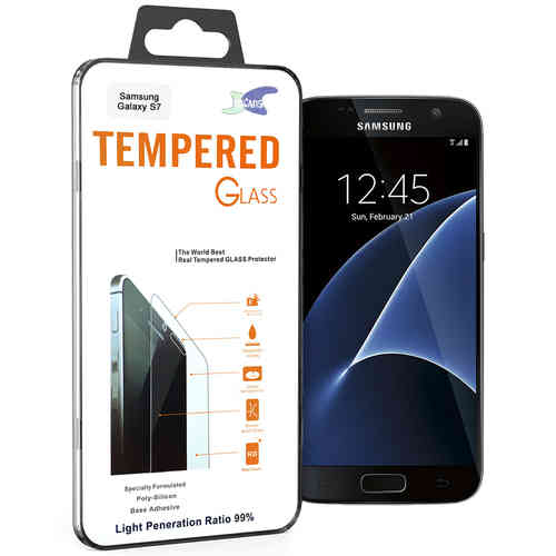 Calans 9H Tempered Glass Screen Protector - Samsung Galaxy S7 - Clear