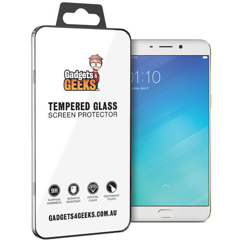 9H Tempered Glass Screen Protector for Oppo R9 Plus - Clear