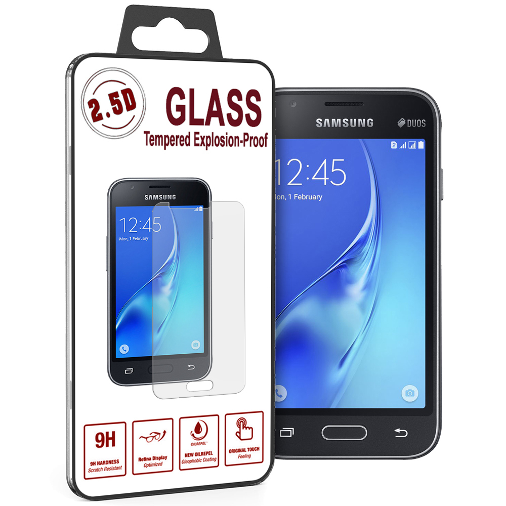 9h Tempered Glass Screen Protector Samsung Galaxy J1 Mini