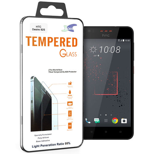Calans 9H Tempered Glass Screen Protector for HTC Desire 825 - Clear