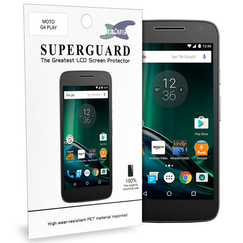 Calans (2-Pack) Clear Film Screen Protector for Motorola Moto G4 Play