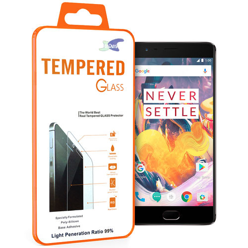 Calans 9H Tempered Glass Screen Protector for OnePlus 3 / 3T - Clear