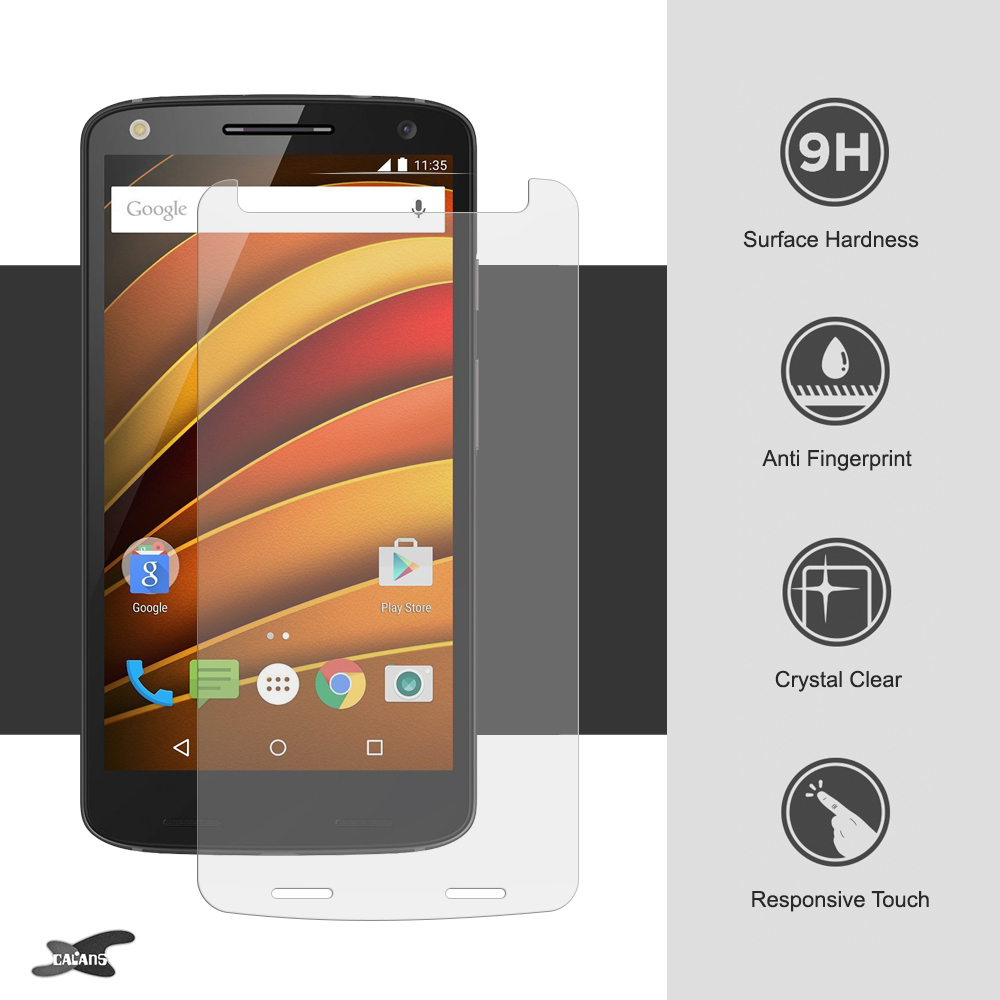 9h Tempered Glass Screen Protector Motorola Moto X Force