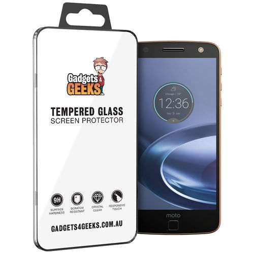 Calans 9H Tempered Glass Screen Protector for Motorola Moto Z Force