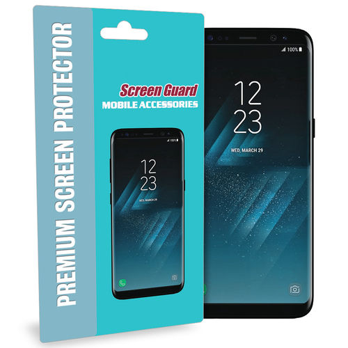 2-Pack Full Coverage Curved TPU Screen Protector for Samsung Galaxy S8