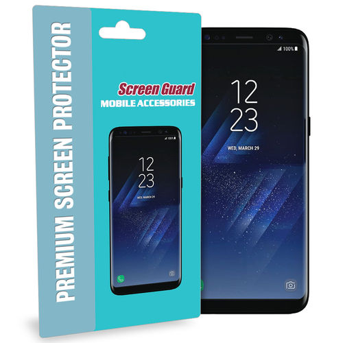(2-Pack) Full Curved TPU Screen Protector for Samsung Galaxy S8+
