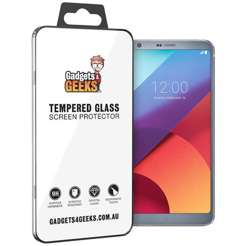Calans 9H Tempered Glass Screen Protector for LG G6 - Clear