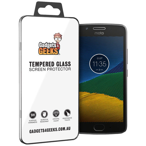 Calans 9H Tempered Glass Screen Protector for Motorola Moto G5 - Clear