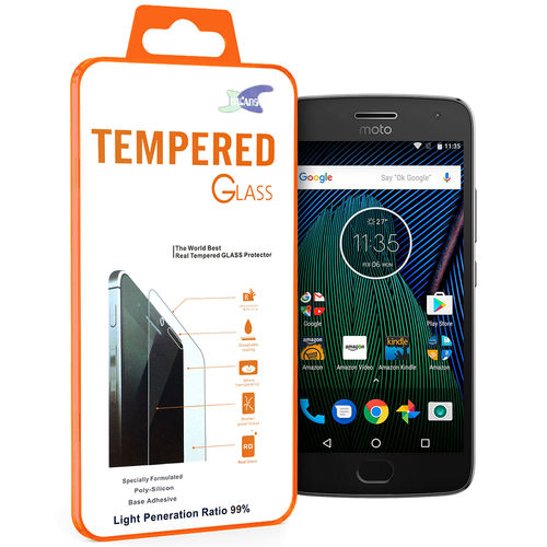 9H Tempered Glass Screen Protector for Motorola Moto G5 Plus - Clear