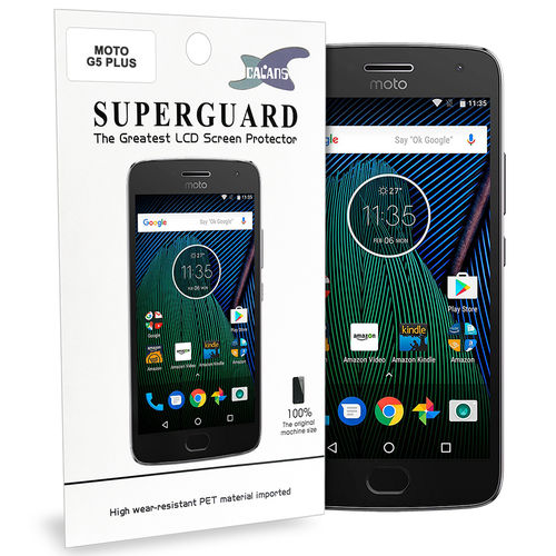 Calans (2-Pack) Clear Film Screen Protector for Motorola Moto G5 Plus