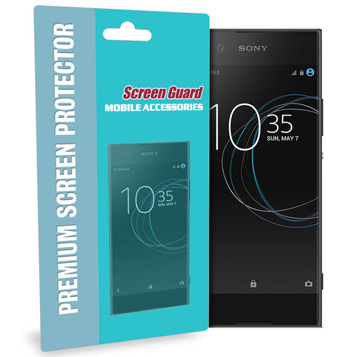 2-Pack Full Fit Curved TPU Screen Protector for Sony Xperia XA1