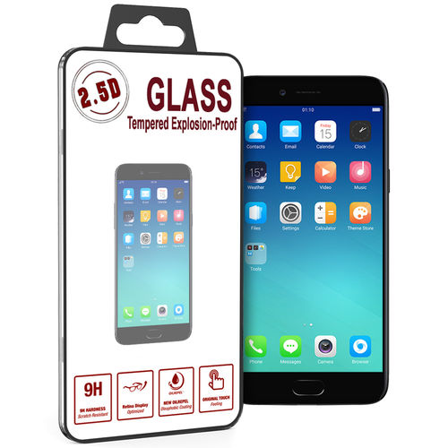 9H Tempered Glass Screen Protector for Oppo A77 - Clear