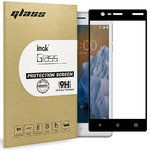 Full Coverage Tempered Glass Screen Protector for Nokia 3 - Black