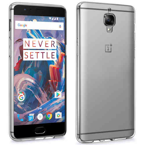 Flexi Crystal Clear Case for OnePlus 3 / 3T - Transparent (Gloss Grip)