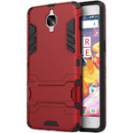 Slim Armour Tough Shockproof Case for One Plus 3 / 3T - Red