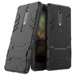 Slim Armour Tough Shockproof Case for Nokia 6.1 (2018) - Black