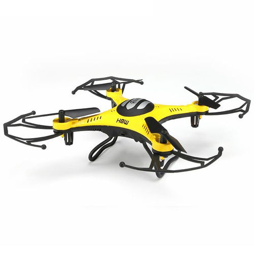 Eachine H8W Wifi FPV 2.4G 6-Axis HD Camera RC Quadcopter - Yellow