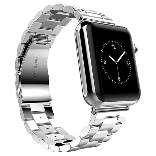 Xincuco Stainless Steel Link Bracelet for Apple Watch 42mm - Silver