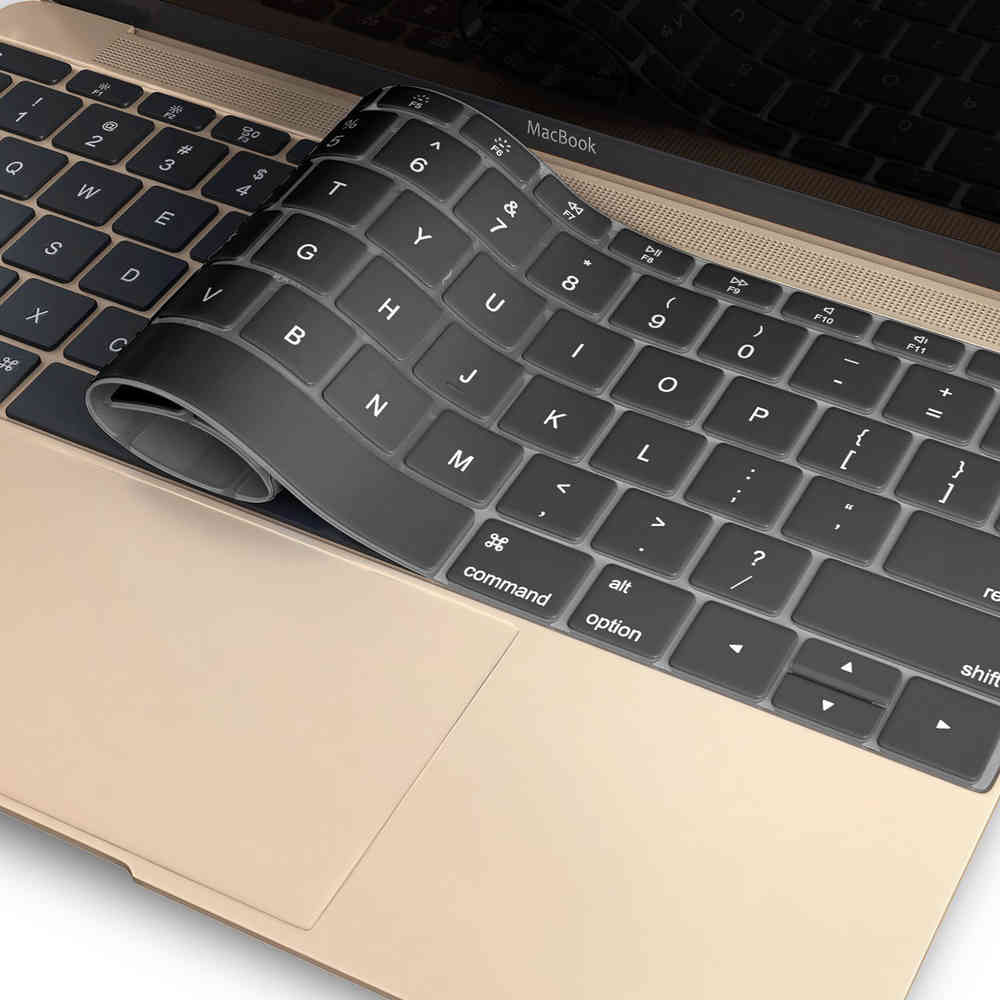 huge selection of cca01 56ab1 Keyboard Protector Cover - Apple MacBook 12-inch (Black)