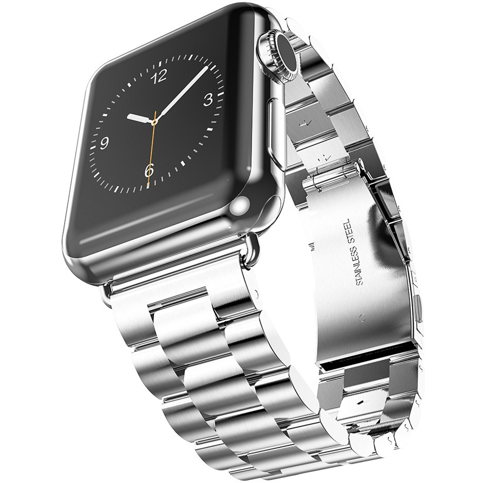 Hoco Stainless Steel Link Bracelet Apple Watch 42mm Silver Huawei With Band Us Warranty 916 For