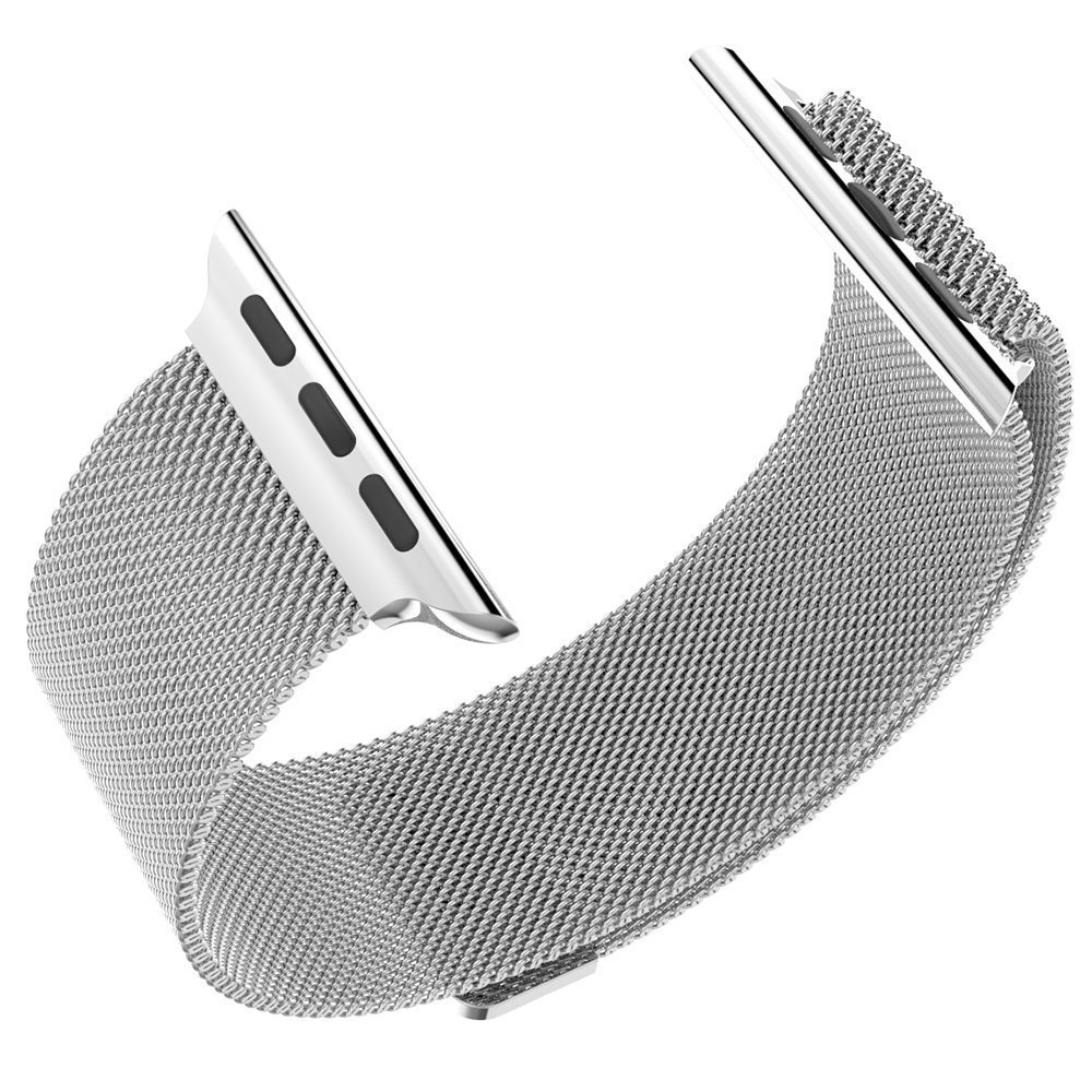 Silver Milanese Stainless Steel Strap - Apple Watch 42 / 44mm