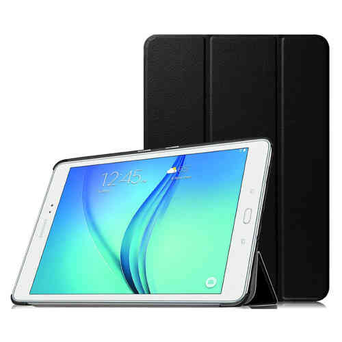 Trifold Smart Case & Stand for Samsung Galaxy Tab A 9.7 (2015) - Black