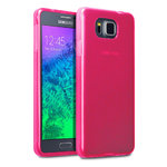 Flexi Gel Two-Tone Case for Samsung Galaxy Alpha - Smoke Pink