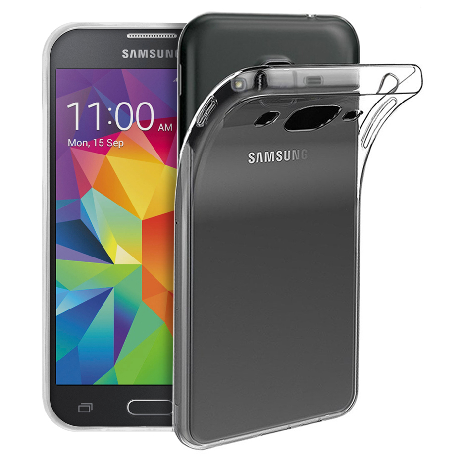 new style e4ac6 c4d7f Flexi Gel Crystal Case for Samsung Galaxy Core Prime - Clear Gloss