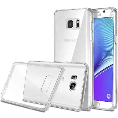 Flexi Gel Crystal Case for Samsung Galaxy Note 5 - Clear (Gloss)