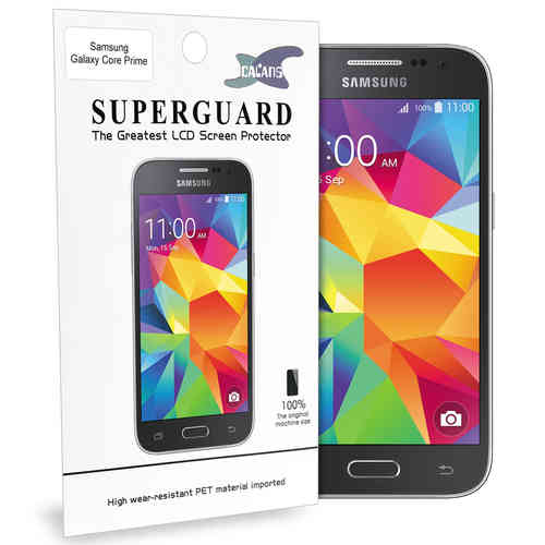 (2-Pack) PET Clear Film Screen Protector for Samsung Galaxy Core Prime