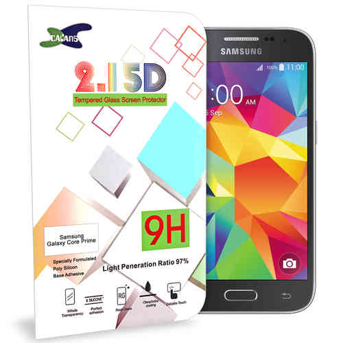 Calans 9H Tempered Glass Screen Protector - Samsung Galaxy Core Prime