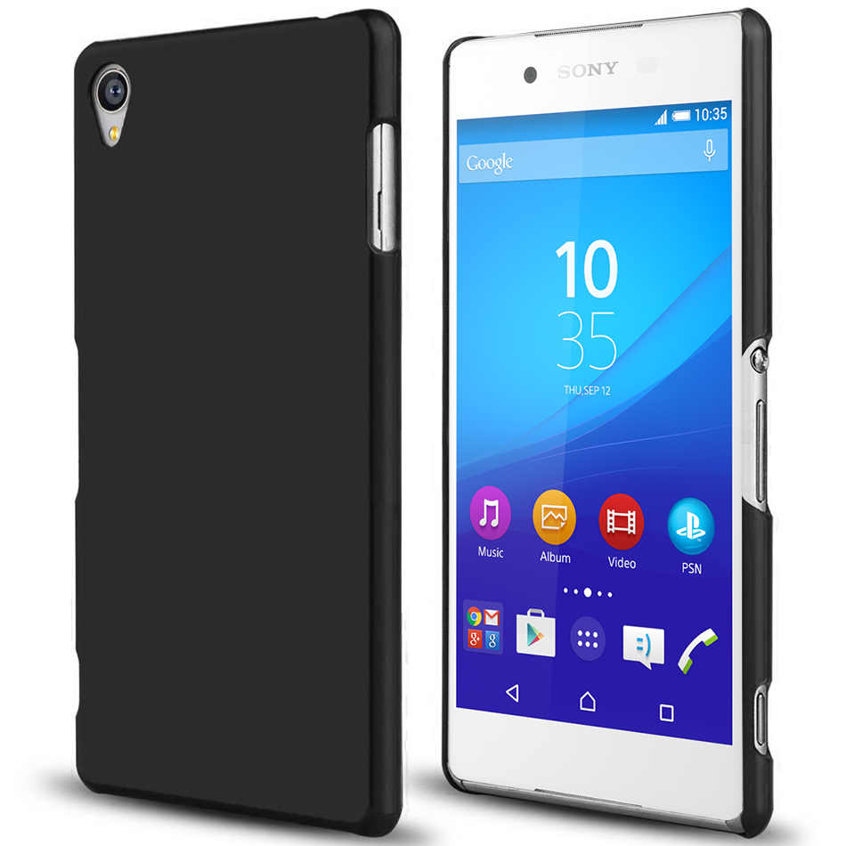 timeless design aa3c4 b8af7 PolySnap Hard Shell Case for Sony Xperia Z3+ / Xperia Z4 - Matte Black