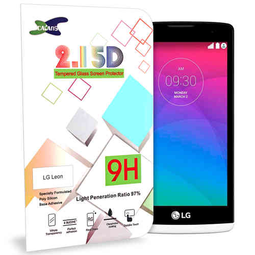 Calans 9H Tempered Glass Screen Protector for LG Leon - Clear