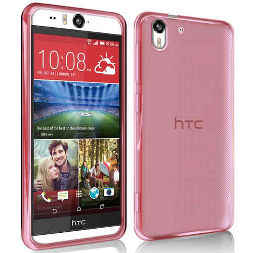 Flexi Gel Case for HTC Desire Eye - Red (Gloss)