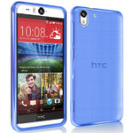 Flexi Gel Case for HTC Desire Eye - Blue (Gloss)