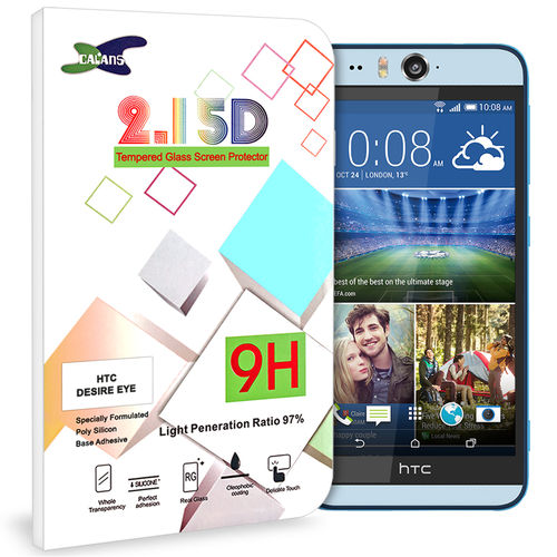 9H Tempered Glass Screen Protector for HTC Desire Eye - Clear