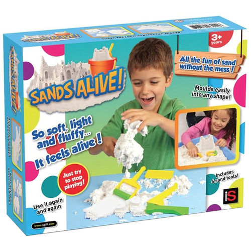 Sands Alive Box of Magnetic Magic Sand - Starter Set