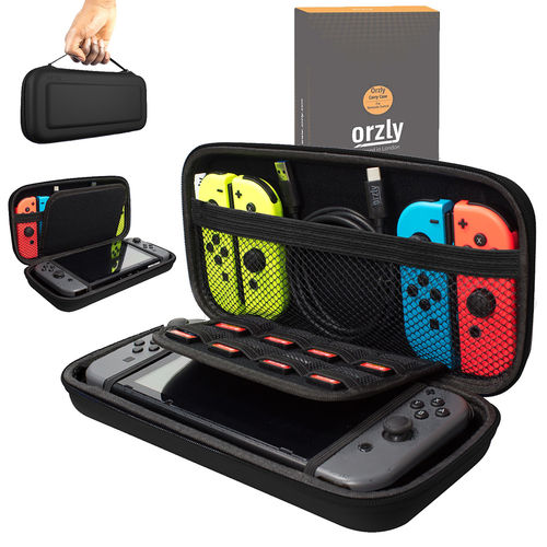 Orzly Travel Carry Case & Storage Pouch (2nd Gen) for Nintendo Switch