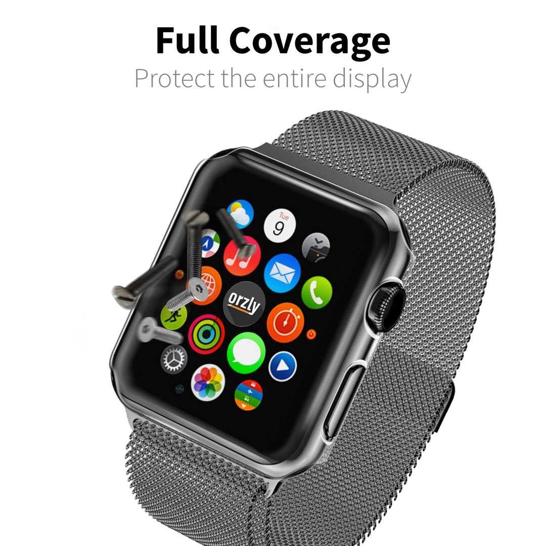 Orzly Invisi Screen Protector Case - Apple Watch 42mm Series 1
