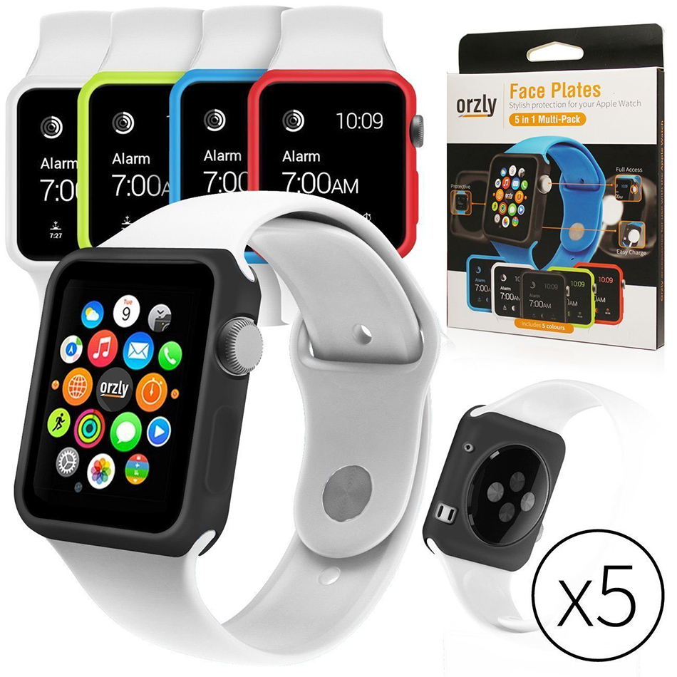 sports shoes de5ca 400cf Orzly Face Plate Body Guard Bumper Case - Apple Watch 38mm