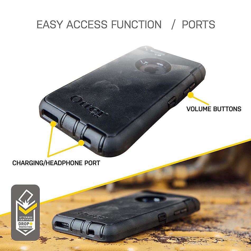best website 2c588 e0ba3 OtterBox Defender Case for Apple iPhone 5s / SE (Black)