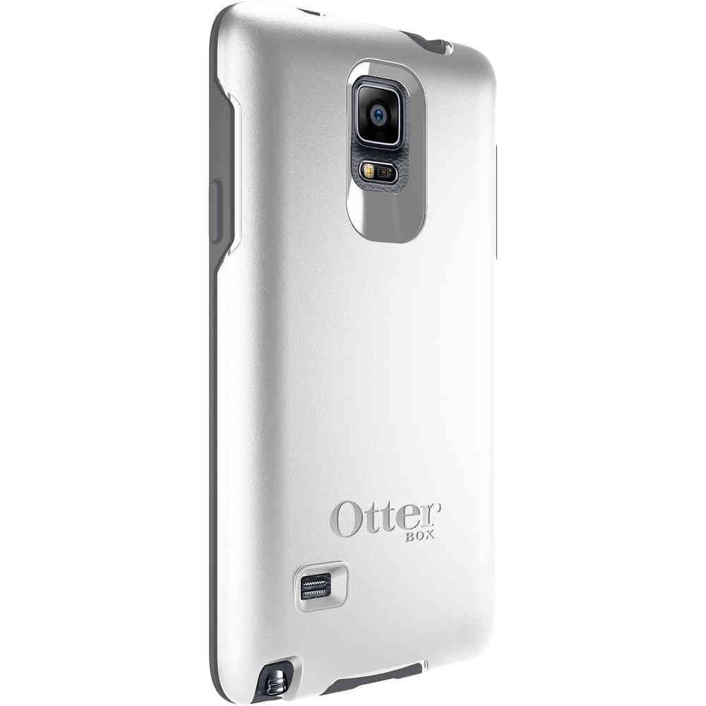 hot sale online 6f808 af4c0 Otterbox Symmetry Case - Samsung Galaxy Note 4 (White)