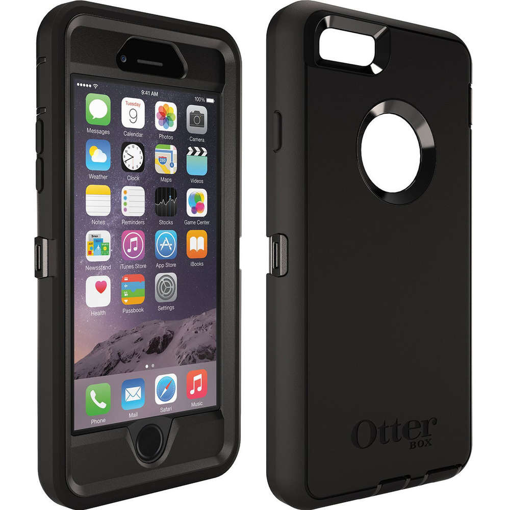 new product c428c 5ce80 Otterbox Defender Case - Apple iPhone 6 / 6s (Black)