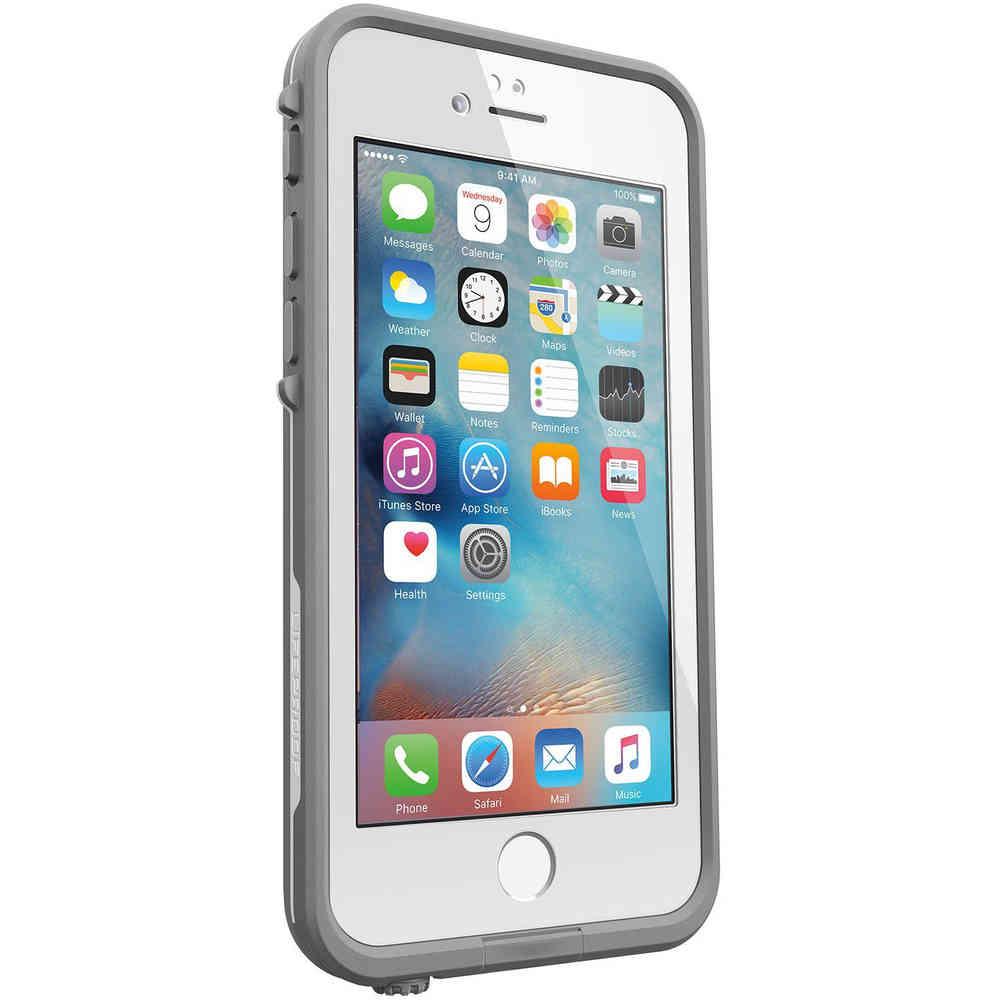 more photos 6e55e 8dfae LifeProof Fre Waterproof Case - Apple iPhone 6s Plus (White)