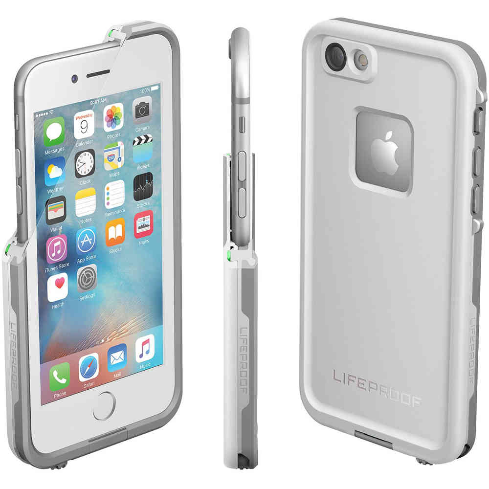 big sale 9b66f 32431 LifeProof Fre Waterproof Case for Apple iPhone 6s (White)