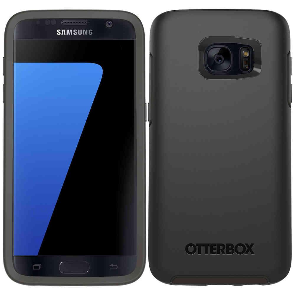 low priced 0db2b ebbb5 Otterbox Symmetry Case for Samsung Galaxy S7 (Black)